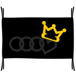 Прапор Audi queen