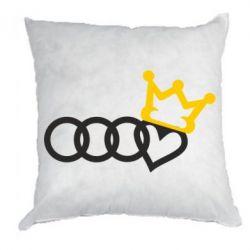 Подушка Audi queen