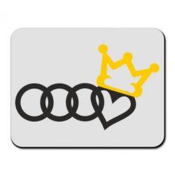 Килимок для миші Audi queen