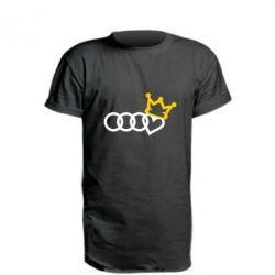 Подовжена футболка Audi queen