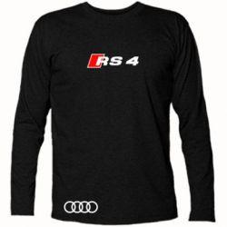 Футболка с длинным рукавом Audi RS4 - FatLine