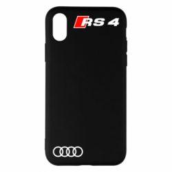 Чехол для iPhone X/Xs Audi RS4