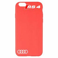 Чехол для iPhone 6 Plus/6S Plus Audi RS4