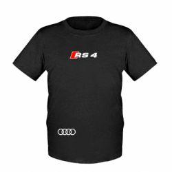 Детская футболка Audi RS4 - FatLine