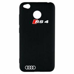 Чехол для Xiaomi Redmi 4x Audi RS4