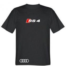Мужская футболка Audi RS4 - FatLine