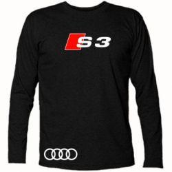 Футболка с длинным рукавом Audi S3