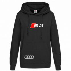 Женская толстовка Audi S3 - FatLine