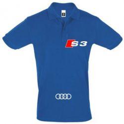 Футболка Поло Audi S3 - FatLine