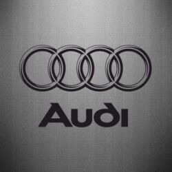 Наклейка Audi Small - FatLine