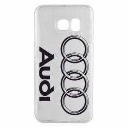 Чехол для Samsung S6 EDGE Audi Small