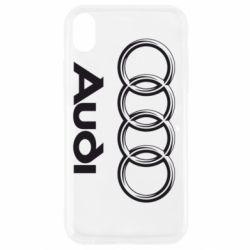 Чехол для iPhone XR Audi Small