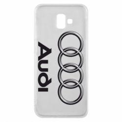 Чехол для Samsung J6 Plus 2018 Audi Small