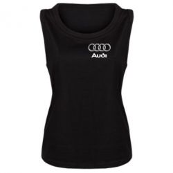 Женская майка Audi Small - FatLine