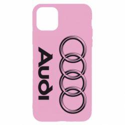 Чехол для iPhone 11 Audi Small