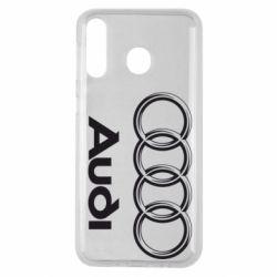Чехол для Samsung M30 Audi Small
