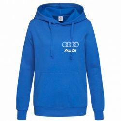 Женская толстовка Audi Small - FatLine