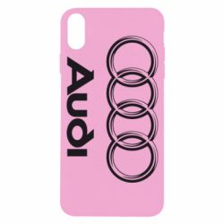 Чехол для iPhone X/Xs Audi Small