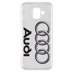 Чехол для Samsung A6 2018 Audi Small