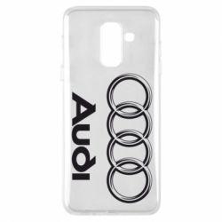 Чехол для Samsung A6+ 2018 Audi Small