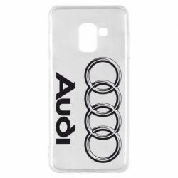 Чехол для Samsung A8 2018 Audi Small