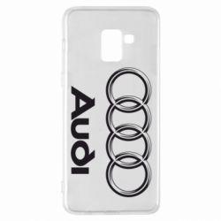 Чехол для Samsung A8+ 2018 Audi Small