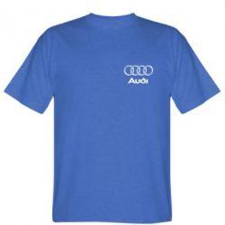 Мужская футболка Audi Small - FatLine