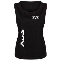 Женская майка Audi Sport - FatLine