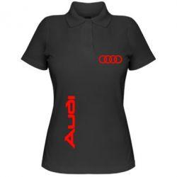 Женская футболка поло Audi Sport - FatLine