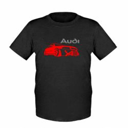 Детская футболка Audi Turbo - FatLine