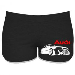 Женские шорты Audi Turbo - FatLine