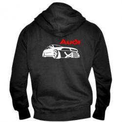 Мужская толстовка на молнии Audi Turbo - FatLine