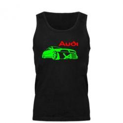 Мужская майка Audi Turbo - FatLine