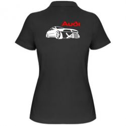 Женская футболка поло Audi Turbo