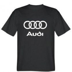 Мужская футболка Audi - FatLine