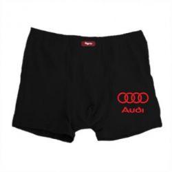 Мужские трусы Audi - FatLine