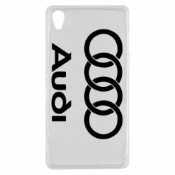 Чехол для Sony Xperia Z3 Audi - FatLine