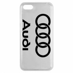 Чехол для Huawei Y5 2018 Audi - FatLine