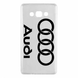 Чехол для Samsung A7 2015 Audi - FatLine