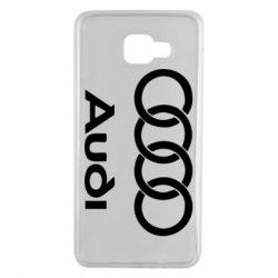 Чехол для Samsung A7 2016 Audi - FatLine