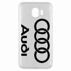 Чехол для Samsung J4 Audi - FatLine