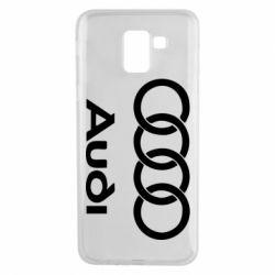 Чехол для Samsung J6 Audi - FatLine