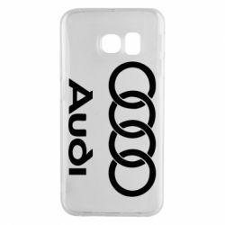 Чехол для Samsung S6 EDGE Audi - FatLine