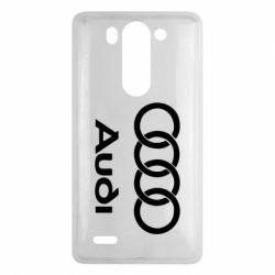 Чехол для LG G3 mini/G3s Audi - FatLine