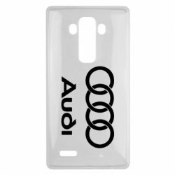 Чехол для LG G4 Audi - FatLine