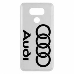 Чехол для LG G6 Audi - FatLine