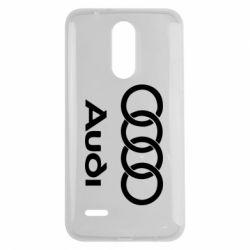 Чехол для LG K7 2017 Audi - FatLine