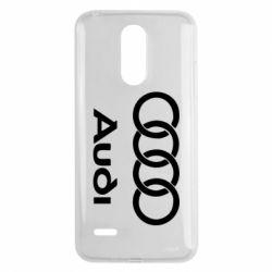 Чехол для LG K8 2017 Audi - FatLine
