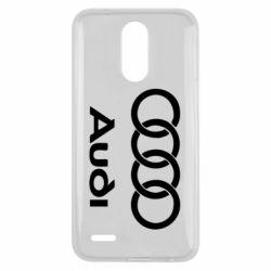 Чехол для LG K10 2017 Audi - FatLine