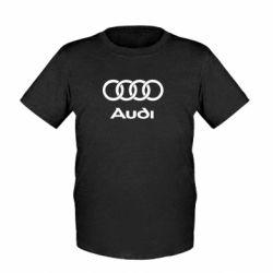 Детская футболка Audi - FatLine